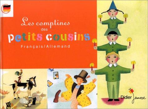 9782278300389: LES COMPTINES DES PETITS COUSINS FRANÇAIS/ALLEMAND