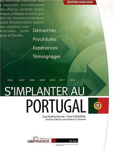 9782279452216: S'implanter au Portugal