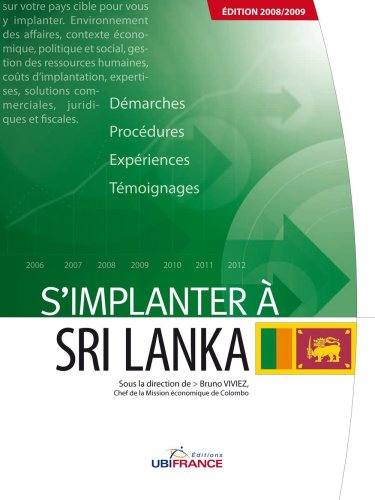 9782279452261: S'implanter à Sri Lanka (French Edition)