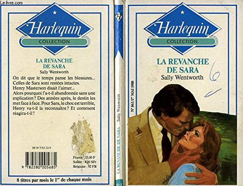 9782280005685: La Revanche de Sara (Collection Harlequin)