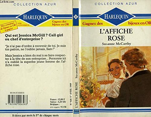 9782280006583: L'Affiche rose (Collection Azur)