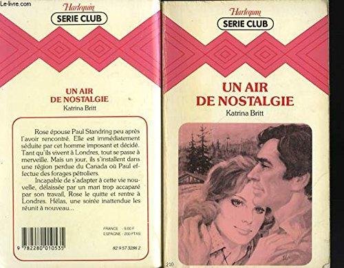 9782280010535: Un Air de nostalgie (Harlequin)
