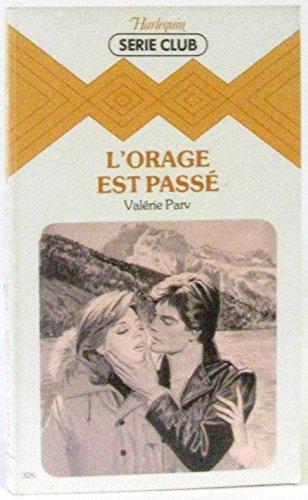 9782280012171: L'Orage est pass� (Harlequin)