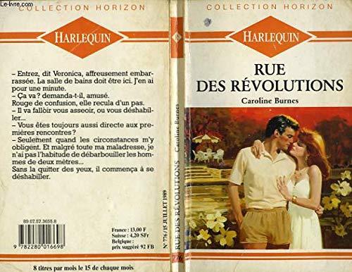 9782280016698: Rue des Révolutions (Collection Horizon)