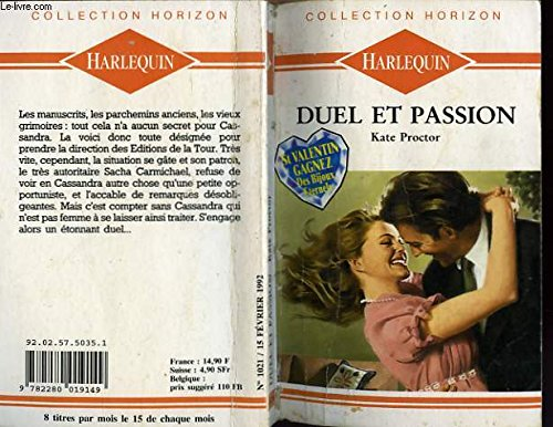 9782280019149: Duel et passion - the price of desire