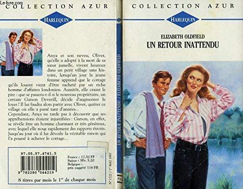 9782280044219: Un retour inattendu : Collection Harlequin azur n°1722