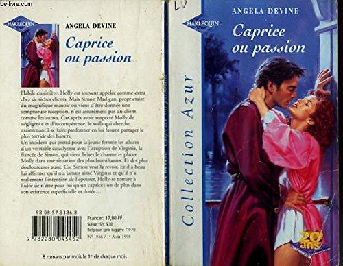9782280045452: Caprice ou passion (Collection Azur)