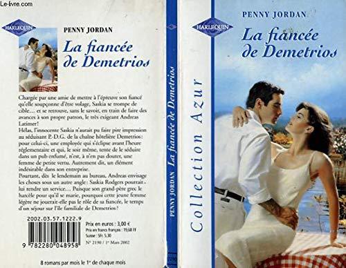 9782280048958: La fianc�e de demetrios azur 2190