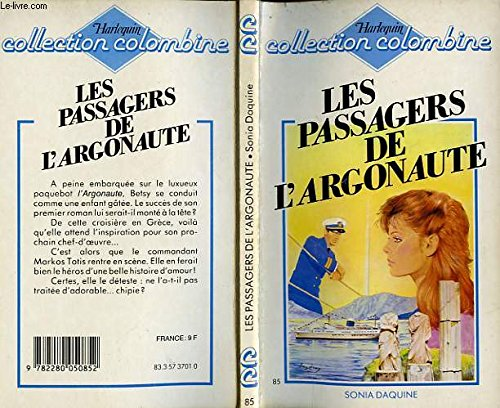 Les Passagers de L'Argonaute (Collection Colombine): Sonia Daquine