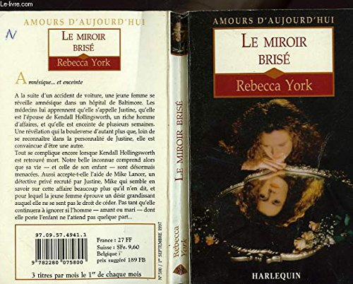 Le miroir brisé (2280075806) by Rebecca York