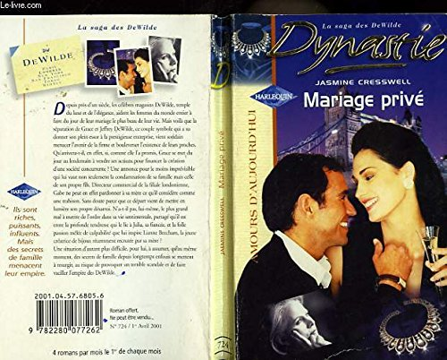 Dynastie. Mariage privé (9782280077262) by Jasmine Cresswell