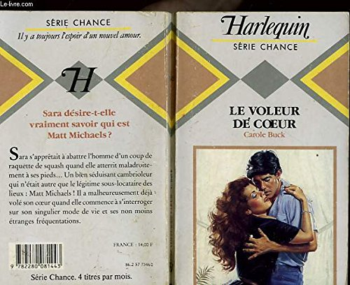 9782280081443: Le Voleur de coeur (Harlequin)