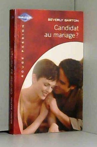 Candidat au mariage (rouge passion 1281) (9782280083102) by [???]