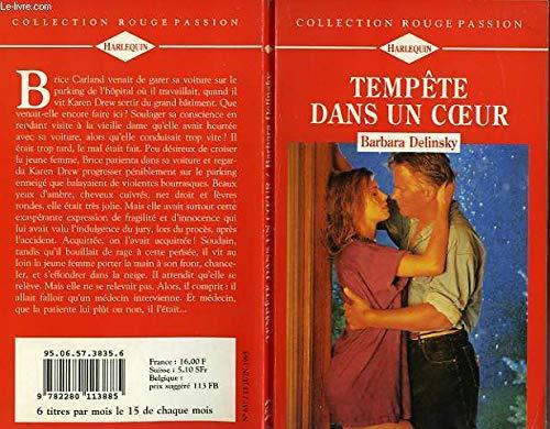 9782280113885: Tempête dans un coeur (Collection Rouge passion)
