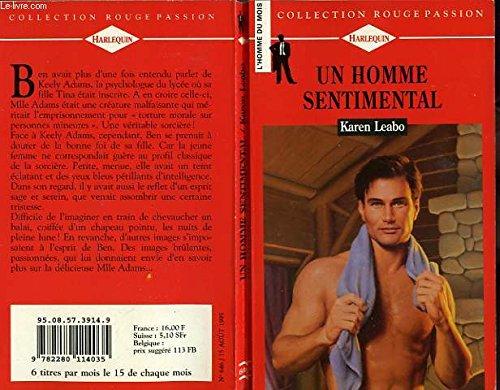9782280114035: Un homme sentimental (Collection Rouge passion)