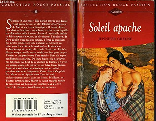 9782280114837: Soleil apache (Collection Rouge passion)