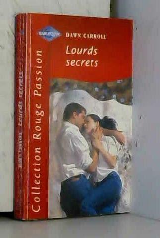 9782280118255: Lourds secrets (Collection Rouge passion)