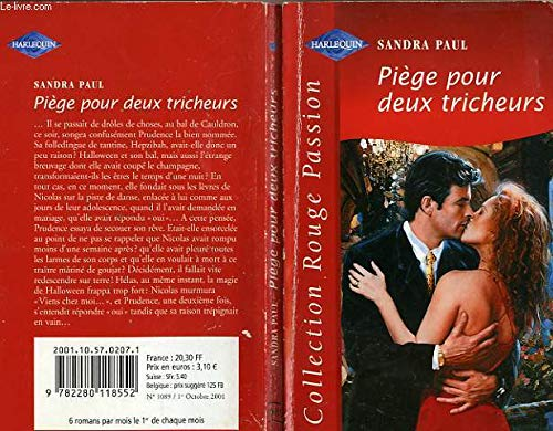 9782280118552: Piège pour deux tricheurs (Collection Rouge passion)