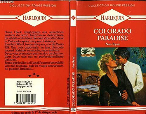9782280122443: Colorado paradise (Collection Rouge passion)