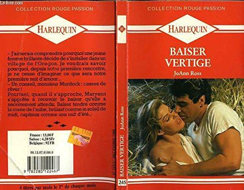 Baiser vertige (Collection Rouge passion): Joann Ross