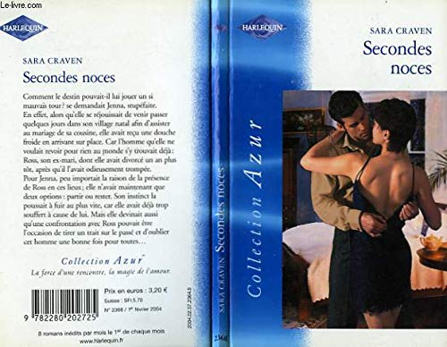 9782280202725: Secondes noces - AZUR 2368