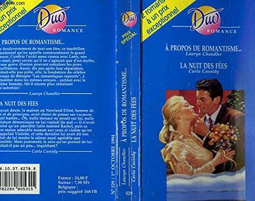 9782280805315: A propos de romantisme... / la nuit des fees