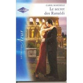 9782280807234: Le Secret des Ranaldi Azur 2912