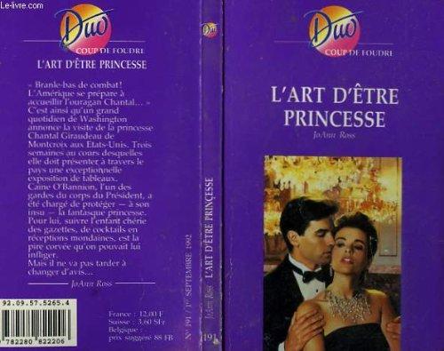 9782280822206: L'art d'etre princesse