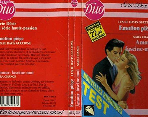 9782280852579: Emotion piege / amour, fascine-moi