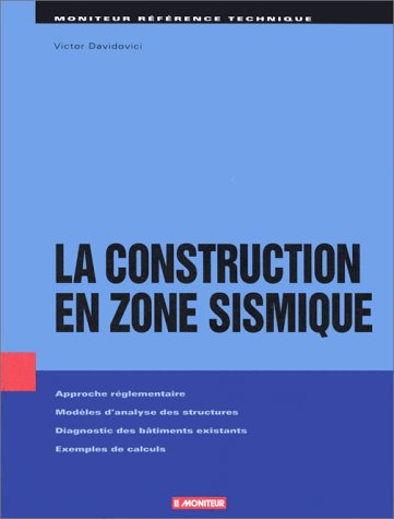 9782281111804: Construction en zone sismique