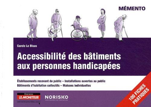 9782281114317: Accessibilité des bâtiments aux personnes handicapées