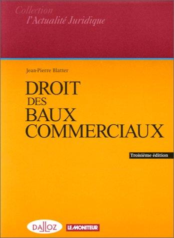 9782281122855: Droit des baux commerciaux