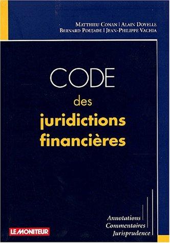 9782281122954: Code des juridictions financières