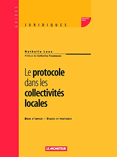 9782281123227: Le Protocole dans les collectivités locales