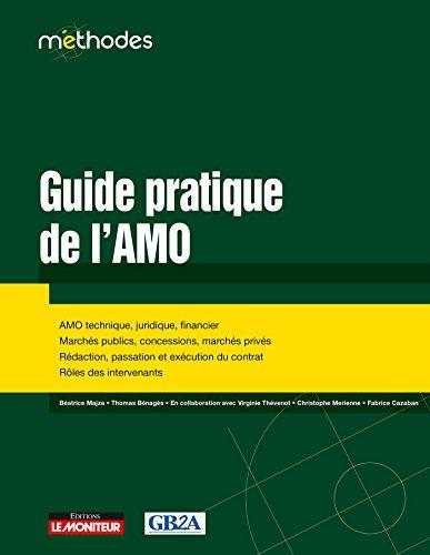 9782281129847: Guide pratique de l'AMO: AMO technique, juridique, financier - Marchés publics, concessions, marchés privés - Rédaction,