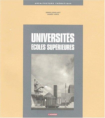 9782281190687: UNIVERSITES. Ecoles supérieures