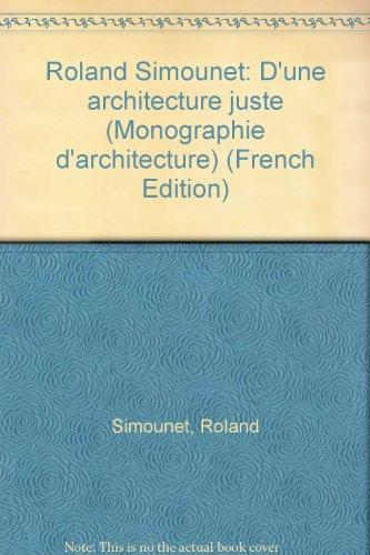 9782281190953: Roland Simounet