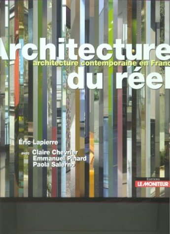 Architecture du ràel (French Edition): Eric Lapierre