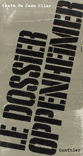 9782282201337: Dossier Oppenheimer