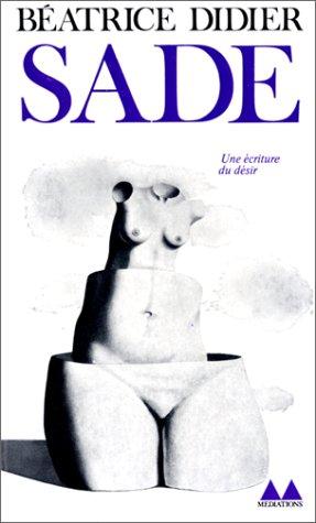 9782282301365: Sade (Bibliothèque Médiations)