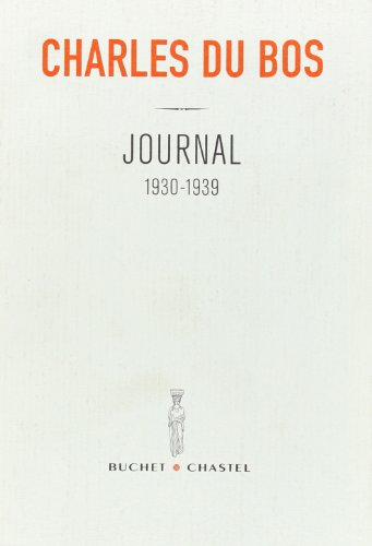 9782283020760: Journal 1930-1939 (French Edition)