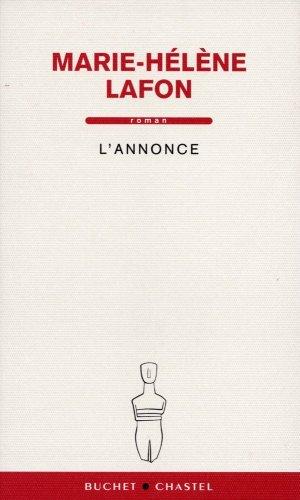 ANNONCE (L'): LAFON MARIE-HÉLÈNE