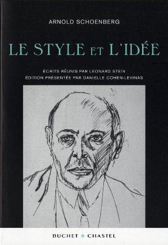 9782283024898: Le style et l'idée