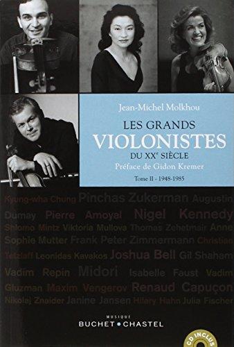 Les grands violonistes du XXe siècle tome 2: Jean-Michel Molkhou