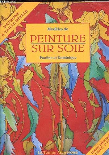 Modèles pour peinture sur soie : Les: Pauline et Dominique