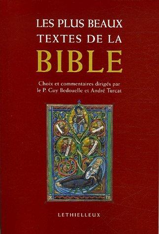 9782283612453: Les plus beaux textes de la Bible (French Edition)