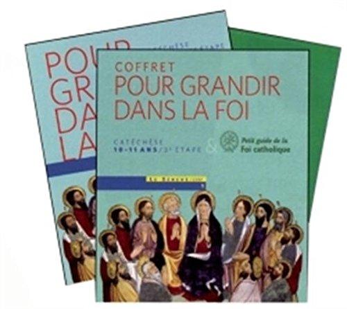 9782283731505: Pour grandir dans la Foi CM2 : Coffret en 2 volumes