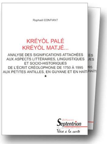 9782284010876: Kréyol palé - Kréyol matjé, volume 1 et 2