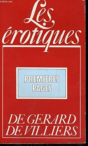 9782285001576: Premieres pages : les érotiques
