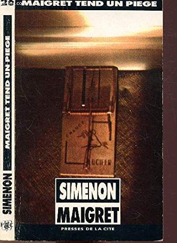 Maigret Tend UN Piege (2285002084) by Georges Simenon
